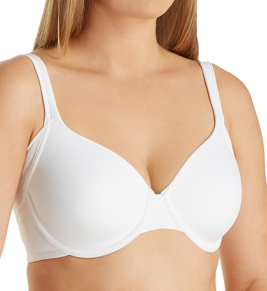 Bali - Bali DF6548 One Smooth U Side Smoothing Foam Underwire Bra (White 34B)
