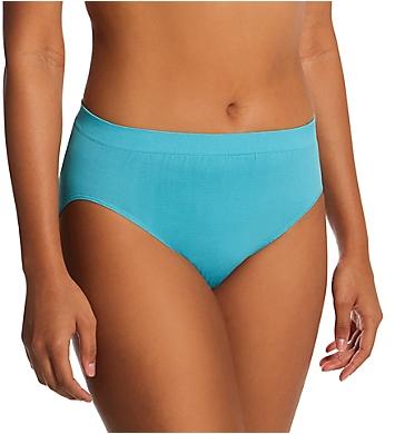 Bali Comfort Revolution Microfiber Hi Cut Panty - 3Pack