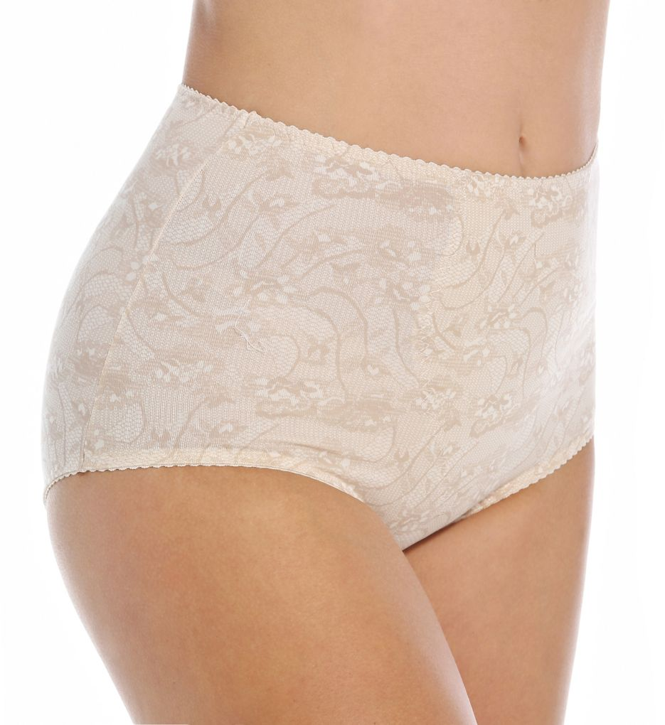Bali Light Control Stretch Cotton Brief Panty - 2 Pack