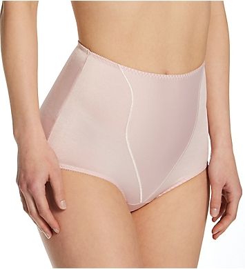 Bali Lace Tummy Panel Shaping Brief Panty - 2 Pack