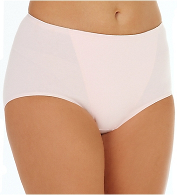 Bali One Smooth U Cotton Brief Panty - 2 Pack
