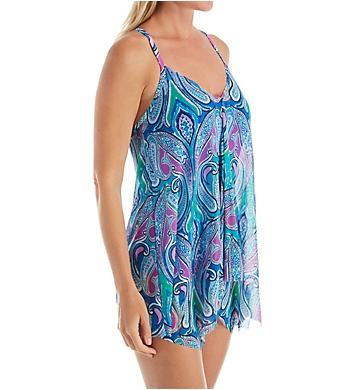 Beach House Gypsea Soul Calista V-Neck Underwire Swim Dress