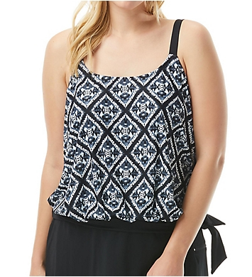 Beach House Woman Diamond Daze Sarah Tie Side Tankini Swim Top