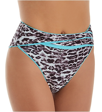 Becca Animal Kingdom Stella High Waist Swim Bottom