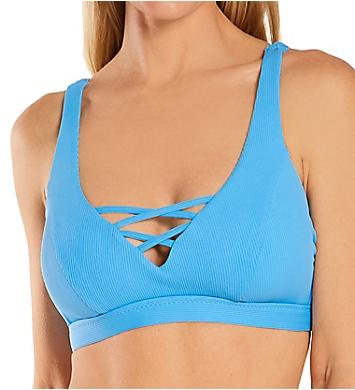 Becca Fine Line Zoe Extended Cup Bralette Swim Top
