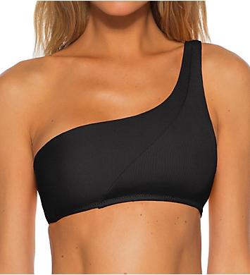 Becca Fine Line Lani One Shoulder Swim Top