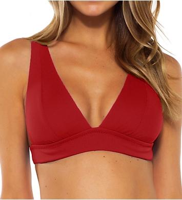 Becca Fine Line Camilla Over The Shoulder Swim Top