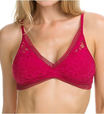 Becca Captured Tie Back Bikini Swim Top