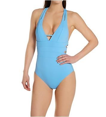 Becca Color Code Elaine Split Strap One Piece Swimsuit