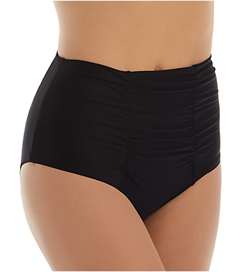 Becca Black Magic Peyton Vintage High Waist Swim Bottom