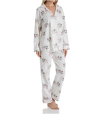 BedHead Pajamas Camping Long Sleeve Long Notch PJ