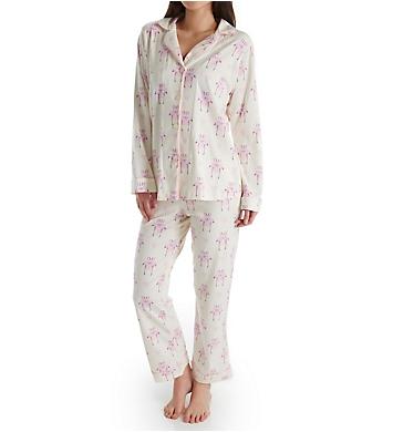 BedHead Pajamas Flamingo Long Sleeve Long Notch PJ