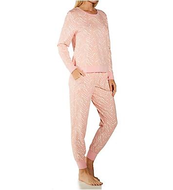 BedHead Pajamas Wild One Pullover Crew and Jogger PJ Set