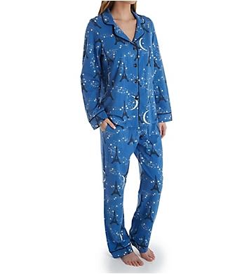 BedHead Pajamas Starry Eiffel Long Sleeve PJ Set