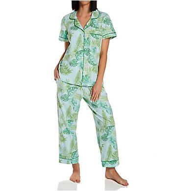 BedHead Pajamas Island Palm Classic Cropped PJ Set
