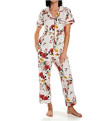 BedHead Pajamas Wild Botanical LS Classic PJ Set