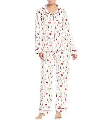 BedHead Pajamas Deck The Halls Long Sleeve PJ Set