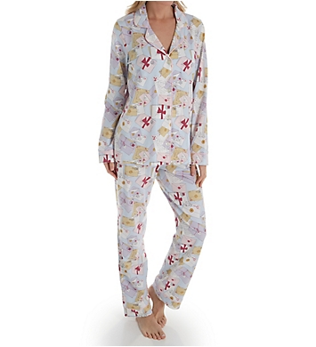 BedHead Pajamas Love Letters Long Sleeve Classic PJ Set