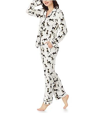 BedHead Pajamas Cairo Kitten Long Sleeve Classic PJ Set