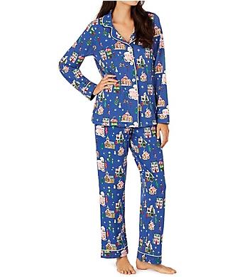 BedHead Pajamas Gingerbread Village PJ Set