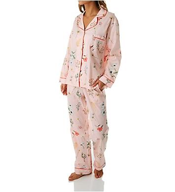 BedHead Pajamas Flower Study Long Sleeve Classic PJ Set