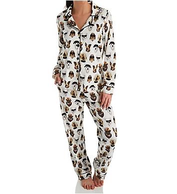 BedHead Pajamas Celebrity Pups Long Sleeve Classic PJ Set
