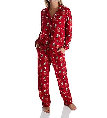 BedHead Pajamas Merry Christmas Snoopy PJ Set