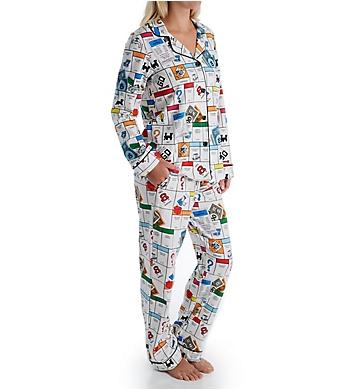 BedHead Pajamas Monopoly Gameboard PJ Set
