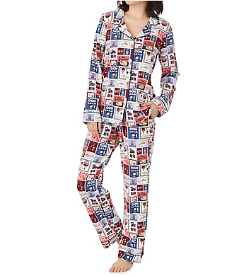 BedHead Pajamas Special Delivery Long Sleeve Classic PJ Set