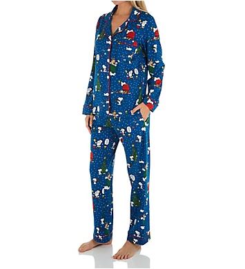 BedHead Pajamas Snoopy Season Organic Cotton PJ Set