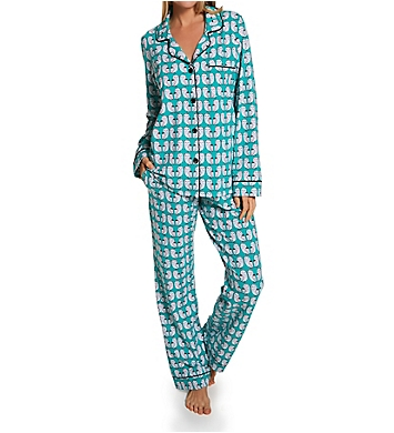 BedHead Pajamas Night Owls Long Sleeve Classic PJ Set