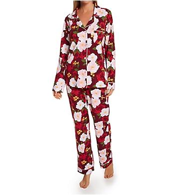 BedHead Pajamas Romantic Roses Long Sleeve Classic PJ Set