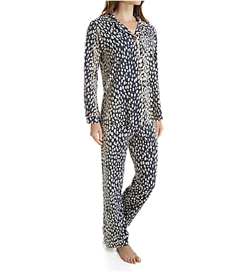 BedHead Pajamas Charcoal Lynx Long Sleeve PJ Set