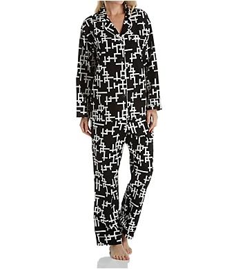 BedHead Pajamas Word Play Long Sleeve Pajama Set