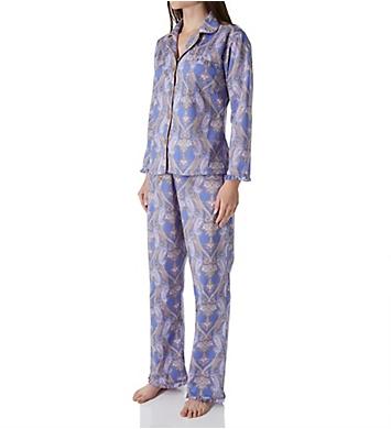 BedHead Pajamas Periwinkle Pashmina Paisley Pajama Set