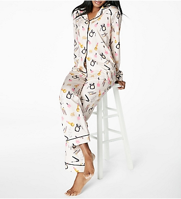 BedHead Pajamas Make Up Party Long Sleeve Pajama Set