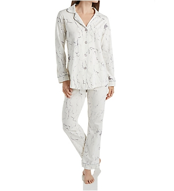 BedHead Pajamas Marble Long Sleeve PJ Set