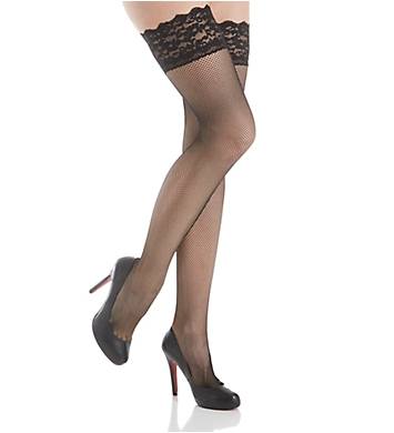 Berkshire Fishnet Lace Thigh High