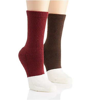 Berkshire Active Comfort Diabetic Crew Socks - 2 Pack