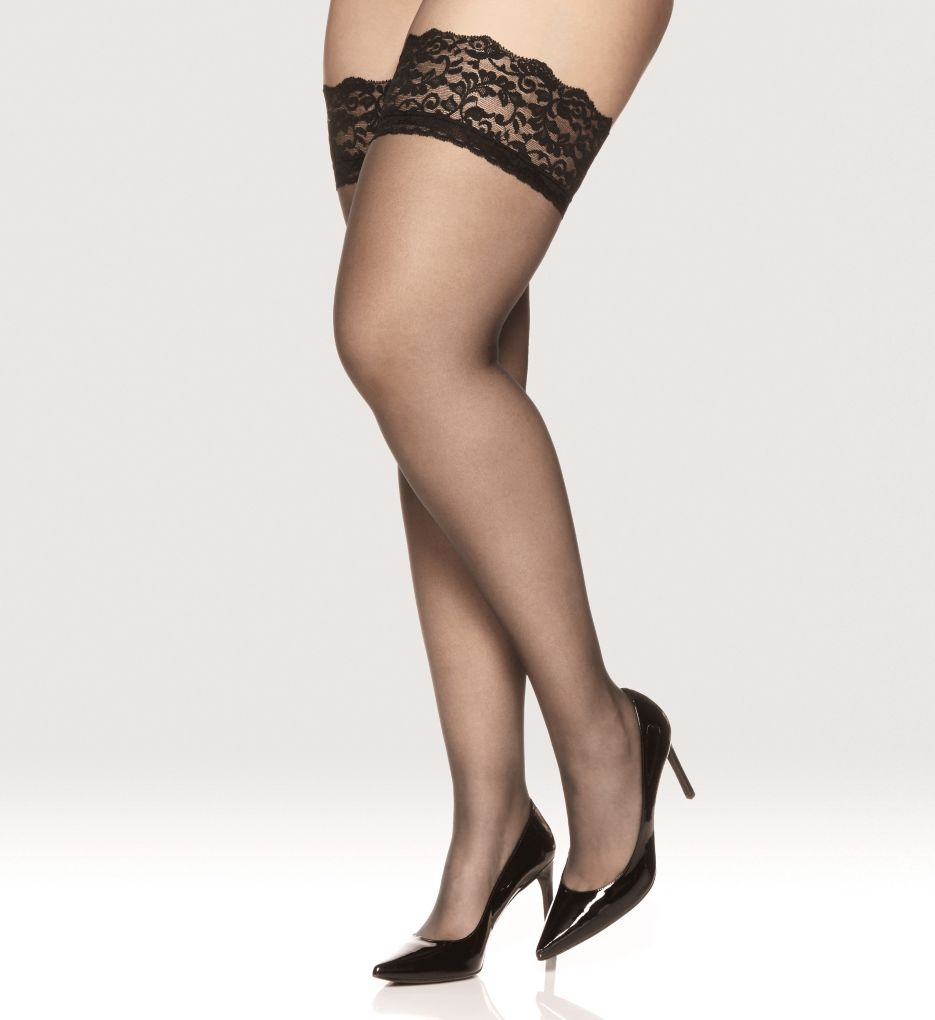 Berkshire Luxury Queen Stretch Lace Stay Up Thigh Highs