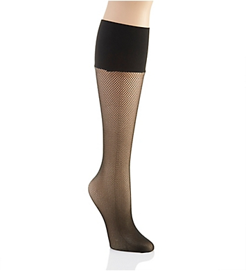 Berkshire Comfy Cuff Plus Size Fishnet Knee High