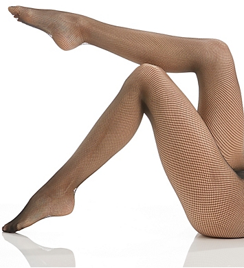 Berkshire Stretch Fishnet with Cotton Gusset