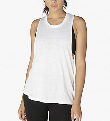 Beyond Yoga Burnout Jersey Twist It Up Tank