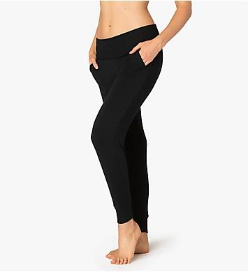 Beyond Yoga Cozy Foldover Waist Long Jogger Pant