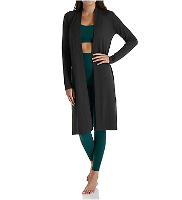 Beyond Yoga Cozy Fleece High Slits Long Duster Cardigan