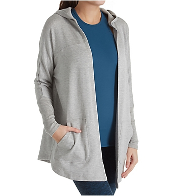 Beyond Yoga Cozy Fleece Love Hooded Swing Back Cardigan
