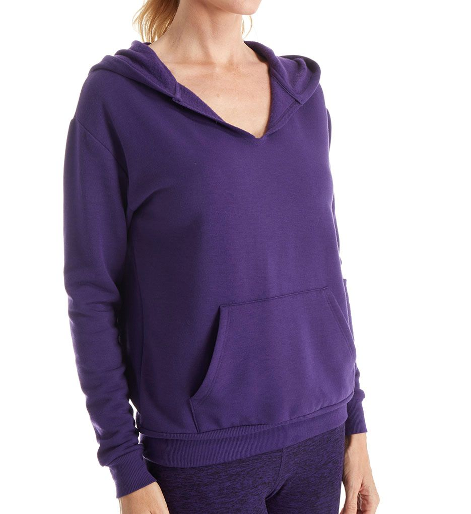 Beyond Yoga Cozy Fleece V-Neck Hoodie