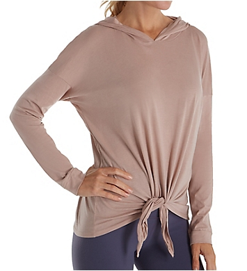 Beyond Yoga All About It Pima Cotton Tied Hoodie