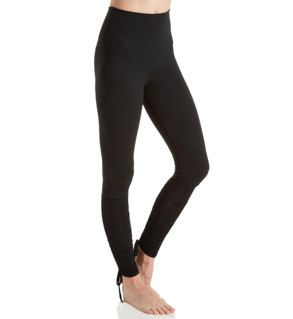 Beyond Yoga Supplex True Stripes Shirred Adjustable Legging