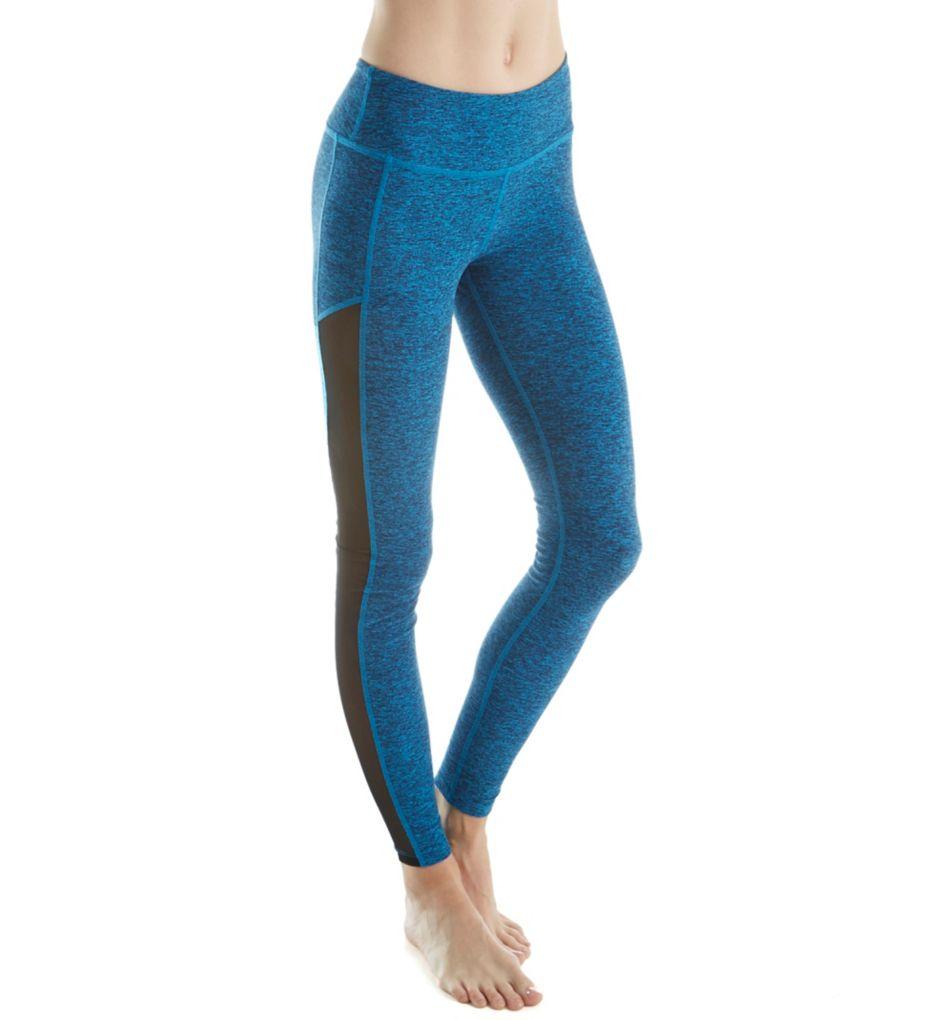 Beyond Yoga Spacedye Performance Mesh Panel Long Legging